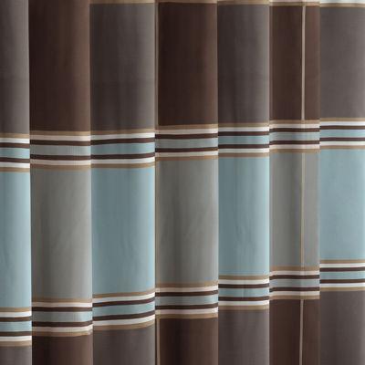 Madison Park Davenport Jacquard Shower Curtain