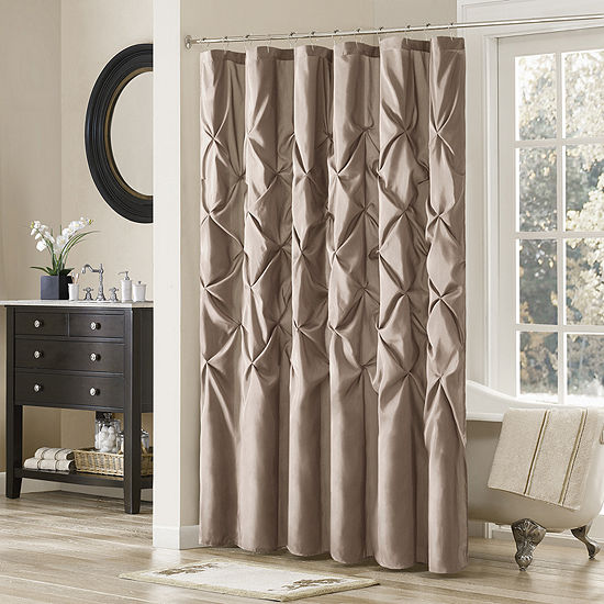 Madison Park Vivian Tufted Shower Curtain JCPenney