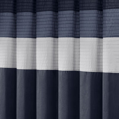 Madison Park Amador Faux-Silk Shower Curtain