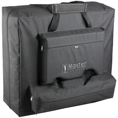 "Master® Massage Monroe 30"" Memory Foam Luster Portable Massage Table Package"