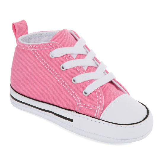 Converse Chuck Taylor First Star Girls Sneakers - Infant