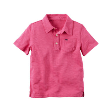 Carter's Pb Polo Henley Short Sleeve Henley Shirt - Preschool Boys