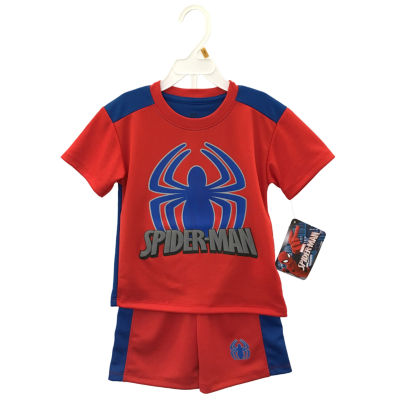 2-pc. Spiderman Short Set Toddler Boys