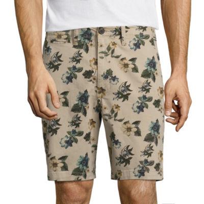 "Arizona 8 1/2"" Inseam Flat Front Flex Shorts"