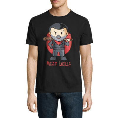 Walking Dead Negan Simple Chibi Graphic T-Shirt