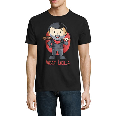 Walking Dead Negan Simple Chibi Graphic T-Shirt