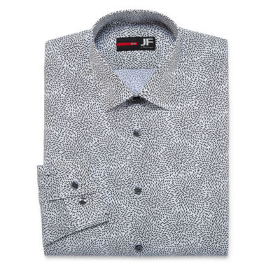 J.Ferrar Stretch Long Sleeve Dress Shirt