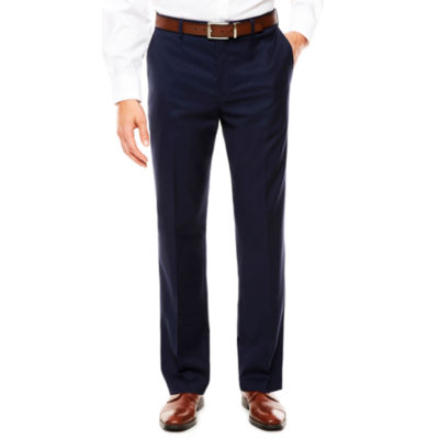 Savane Flat Front Premium Flex Gabardine Dress Pants