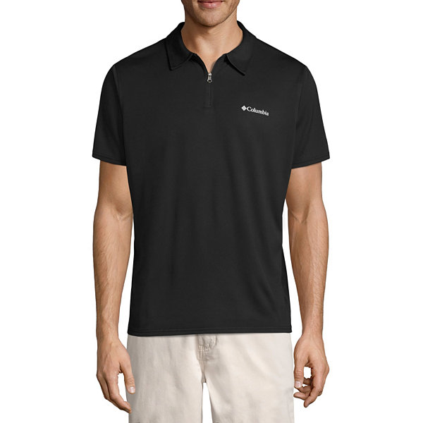 Columbia short sleeve knit polo shirt jcpenney for Jcpenney ladies polo shirts