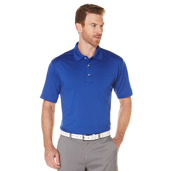 Pga tour short sleeve motionflux 360 polo shirt jcpenney for Jcpenney ladies polo shirts