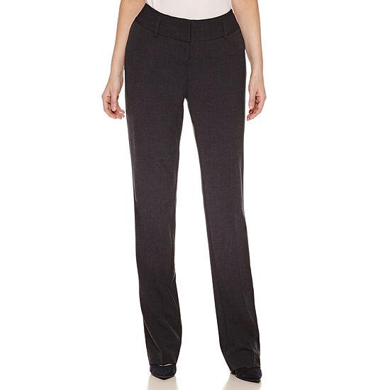 Worthington® Curvy Fit Straight Leg Pants