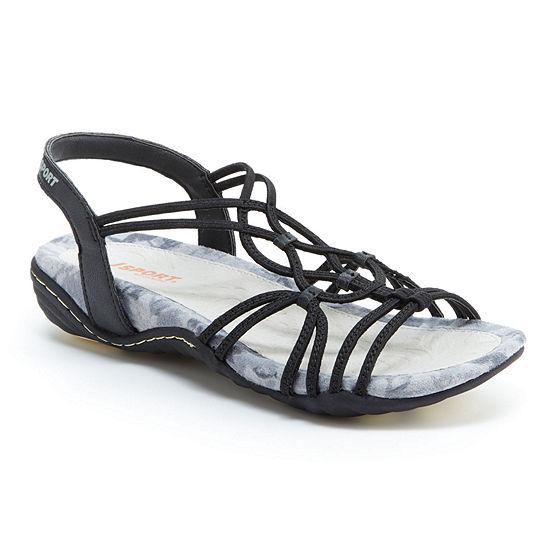 J Sport By Jambu Womens April Strap Sandals