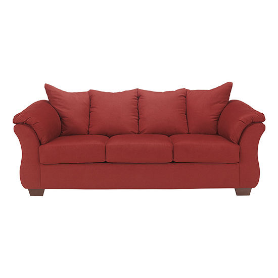 Signature Design by Ashley® Audrey Fabric Pad-Arm Sofa