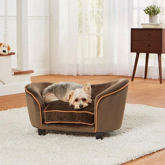 Enchanted Home Pet Ultra Plush Snuggle Sofa