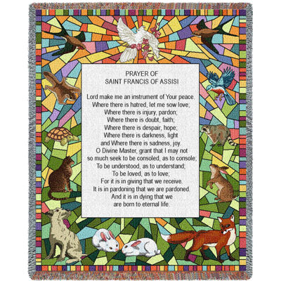 St Francis of Assisi Blanket