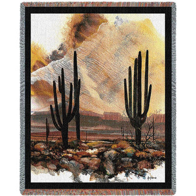 Sonoran Sentinels Tapestry Blanket