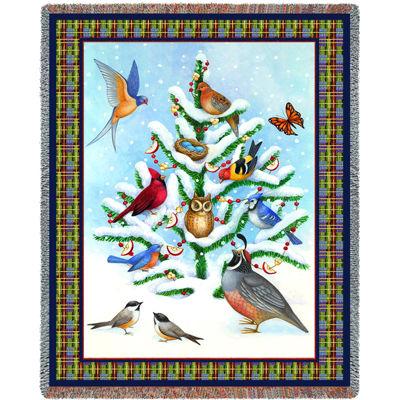 Bird Haven Blanket