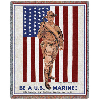 Be A Marine Blanket