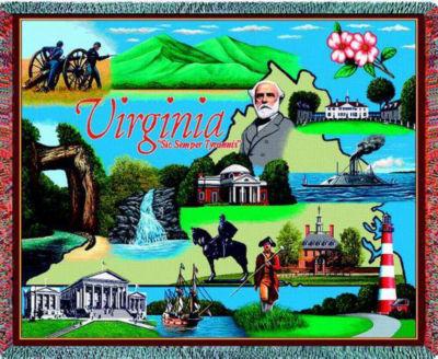 Virginia 2 Blanket