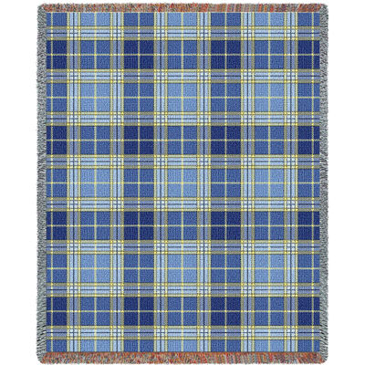 Blue Bell Plaid Blanket