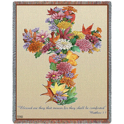 Autumn Cross Blanket