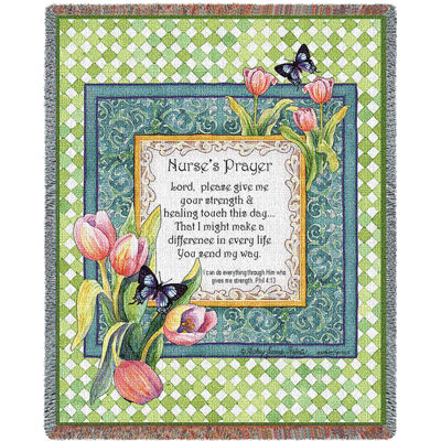 Nurse's Prayer Blanket