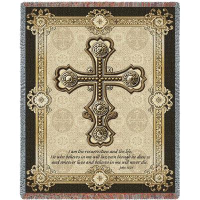 Gothic Cross Blanket