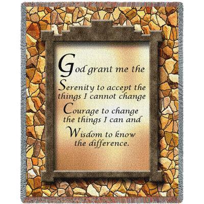 God Grant Me The Serenity II Blanket