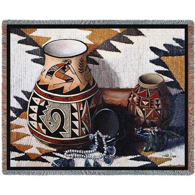 Kokopelli Pot Blanket