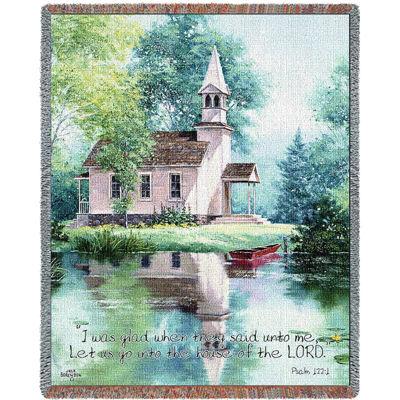 Lakeside Scripture Blanket
