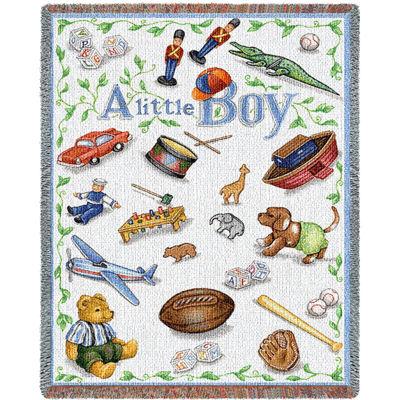 Little Boy Mini Blanket