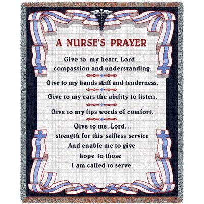 A Nurse's Prayer Blanket