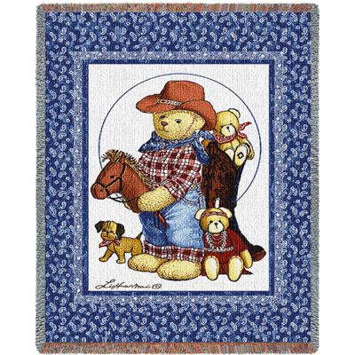 Curly Bears Quilt Mini Blanket