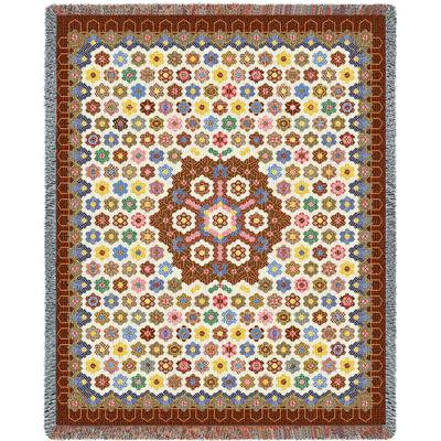 Honeycomb Quilt Blanket