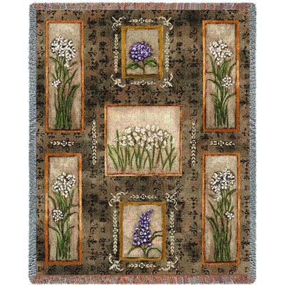 Garden Maze Blanket