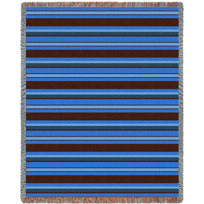 Marine Stripes Blanket