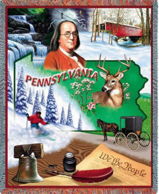 Pennsylvania 2 Blanket