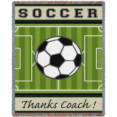 Thanks Coach Soccer Blanket