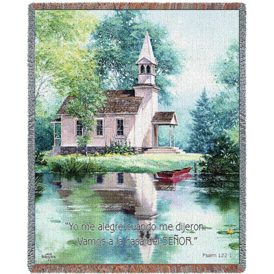 Lakeside Scripture Spanish Blanket