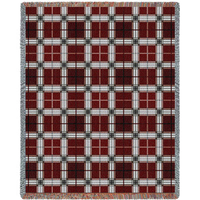 Brickcraft Plaid Blanket