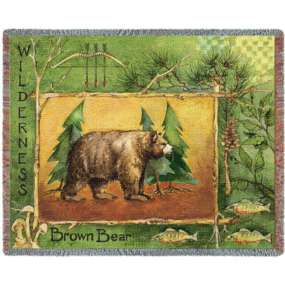 Brown Bear Blanket