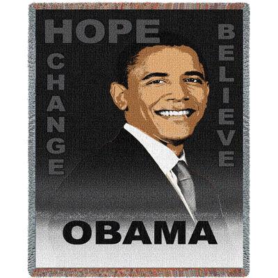 Obama Believe Blanket