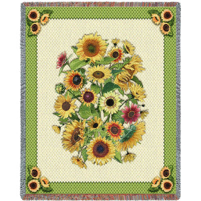Sunflower Garden Blanket