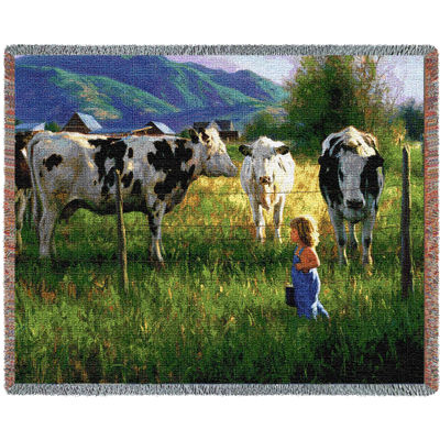Anniken And The Cows Blanket