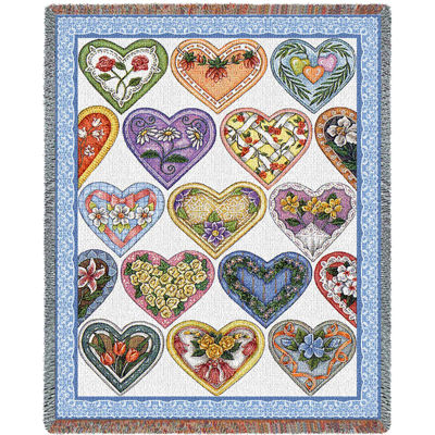Hearts To You Blanket