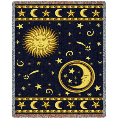 Moon and Stars Blanket