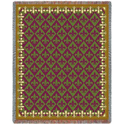 New Orleans Tapestry Blanket