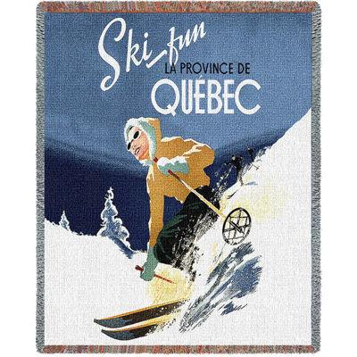 Ski Quebec Blanket