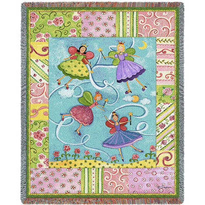 Patchwork Fairies Blanket