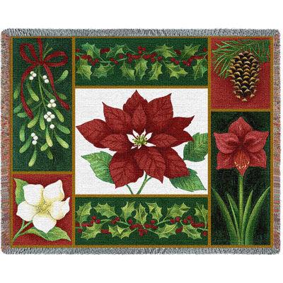Christmas Flora Blanket